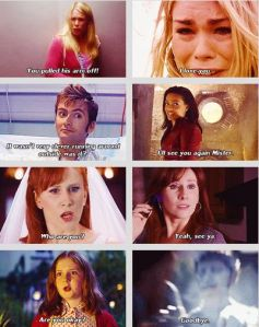 The first and last words of the Doctor's Companions